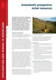 Exploration and Mining in Greenland, Fact sheet no. 9, 2004 - Geus
