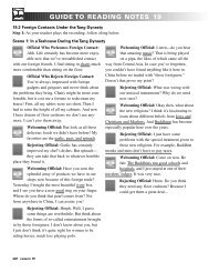 GUIDE TO READING NOTES 19
