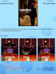 Rounders Poker ZGroup Mobile - Get Mobile game