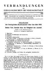 1954 - Geologische Bundesanstalt