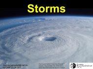 Storms - GFDRR