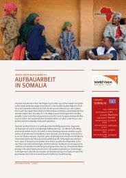 AUFBAUARBEIT IN SOMALIA - Gemeinsam für Afrika