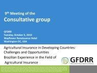 Brazilian Family Farming - GFDRR