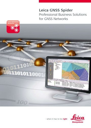 Leica GNSS Spider - Geotech