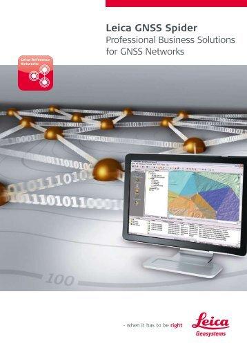 Leica GNSS Spider - Geotech
