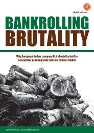 Bankrolling Brutality - Global Witness