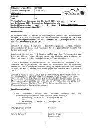 1 Sitzungsvorlage Nr.: 16/2011 Zur GR-Sitzung am: 01.02.2011 ...