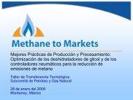Optimización de la Tasa de Circulación del Glicol - Global Methane ...
