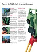 The new TPS300 Basic Series from Leica Geosystems - Geotech - Page 4