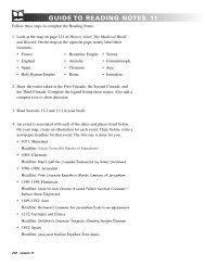 CH 11: Teacher Notes