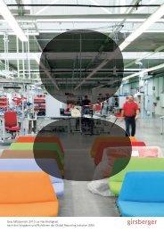 Nachhaltigkeits-bericht 2010 - Girsberger