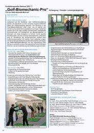 Zielgruppe - Golf-Biomechanic-Academy