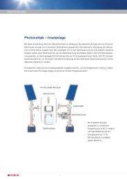 Photovoltaik – Inselanlage - Geht doch!