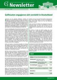 Ghorfa-Newsletter 04/2009