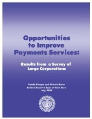 Opportunities to Improve Payment Services - Government Finance ...