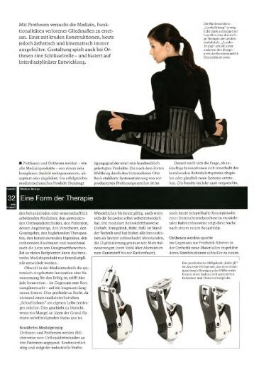 Artikel (PDF | 560 kB) - Institut für Industrial Design
