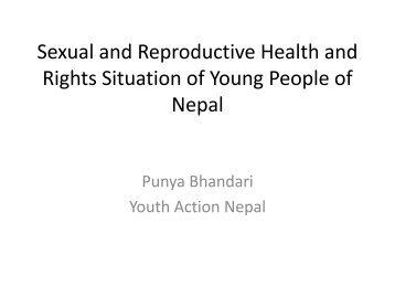 Workshop 9 - Punya Bhandari - Global Partners in Action