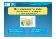 Syndrome post-chute - Geronto-Normandie