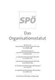Statut der SPÖ