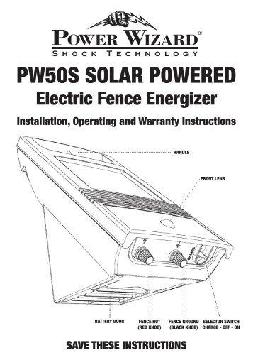 PW50S Solar PoWered