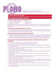 Programa de Prevencion de Envenenamiento por Plomo en los Ninos