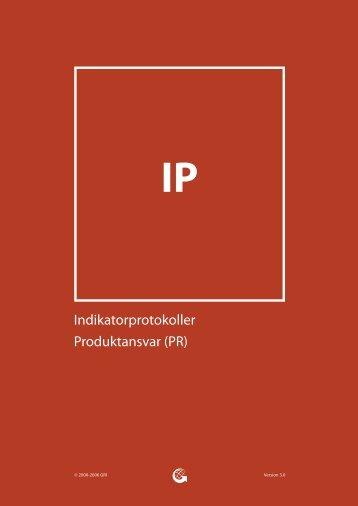 Indikatorprotokoller Produktansvar (PR) - Global Reporting Initiative