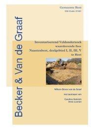 Inventariserend veldonderzoek, waarderende fase - Gemeente Best