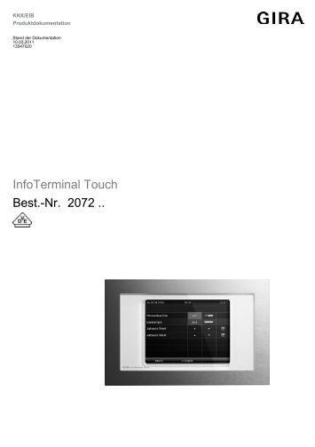 control 9 knx best nr 2079 00 gira. Black Bedroom Furniture Sets. Home Design Ideas
