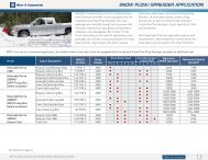 Snow Plow/Spreader (PDF) - GM Fleet