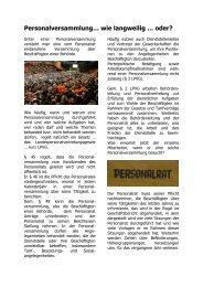 Personalversammlung… - (GdP) - Kreisgruppe Recklinghausen