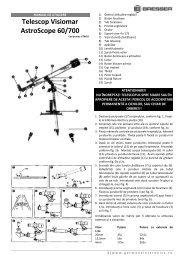 Telescop Visiomar AstroScope 60/700 - German Electronics