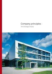 Company principles - Girsberger