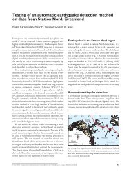 Geological Survey of Denmark and Greenland Bulletin 26 ... - GEUS
