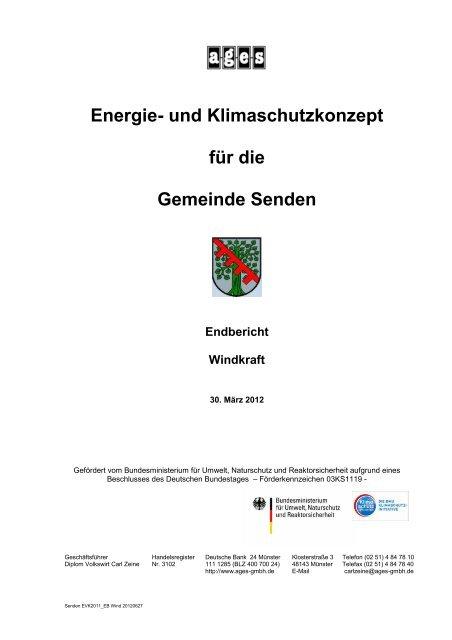 Windkraft - Gemeinde Senden