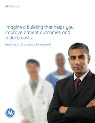 Healthcare Infrastructure Re-imagined brochure - GE Lighting Asia ...