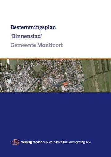 Bestemmingsplan 'Binnenstad' Gemeente Montfoort - GISnet