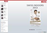 swiss indooRs 2013 - Go4Media