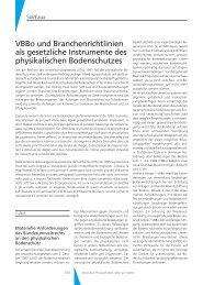 VBBo und Branchenrichtlinien als gesetzliche Instrumente des ...