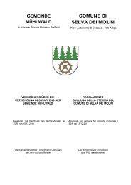 Verordnung über die Verwendung des Wappens der Gemeinde