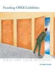 Funding OPEB Liabilities: What Are Your Options? - Government ...