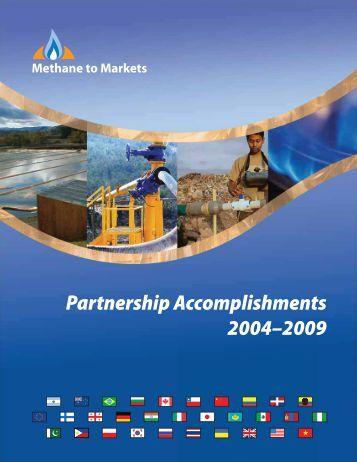 Partnership Accomplishments 2004–2009 - Global Methane Initiative