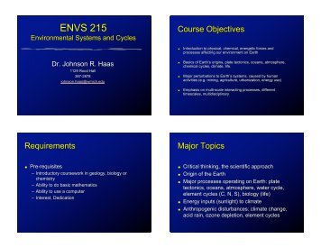 ENVS 215