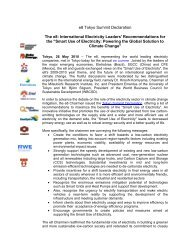 May 2010 PDF - Global Sustainable Electricity Partnership