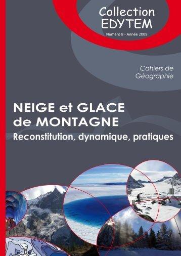 NEIGE et GLACE de MONTAGNE