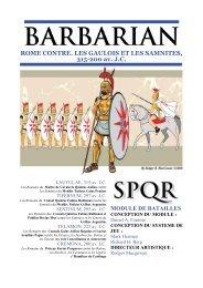 ROME CONTRE. LES GAULOIS ET LES SAMNITES ... - GMT Games