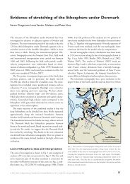 Geological Survey of Denmark and Greenland Bulletin 15 ... - GEUS
