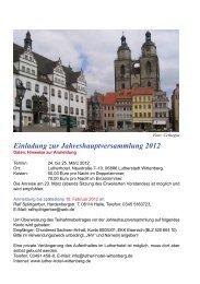 Jahreshauptversammlung 2012 - Gnadauer Posaunenbund