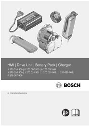 HMI | Drive Unit | Battery Pack | Charger - Gepida