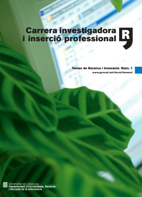 Revista 1A .qxd - Generalitat de Catalunya
