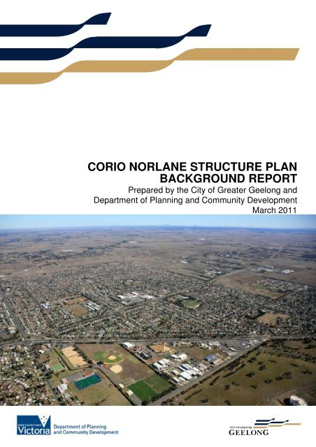 corio norlane structure plan background report - City of Greater ...